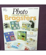 Photo Bragsters  Plastic Canvas 2004 12 Carry Along Albums Beach Patriot... - $6.95