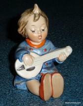 """""""Joyful"""" Goebel Hummel Figurine #53 TMK3 Little Girl Playing The Guitar ... - $38.79"""