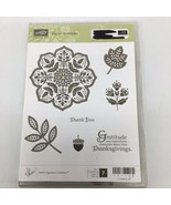 """Stampin' Up! """"Day of Gratitude"""" Rubber Stamp Set #121148 - $14.01"""