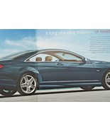 2012 mercedes cl 63 amg cl 550 owners sales brochure w216 cl class cl 60... - $15.54