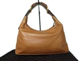 Authentic GUCCI Browns Leather Shoulder Bag GS10013L - £188.01 GBP