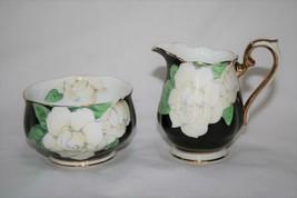 Royal Albert The Gardinia Mini Creamer & Open Sugar  #2330 - $36.00