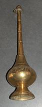 Vintage Moroccan Islamic Brass Rose Water Sprinkler Engraved Oriental Gulab Pash image 2