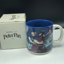 Walt Disney Peter Pan Coffee Cup Mug Wendy Michael John Darling with Box  - $21.34