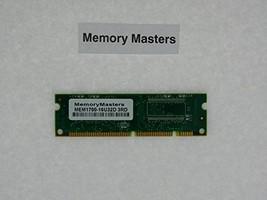 MEM1700-16U32D 16MB SDRAM Memory for Cisco 1720 Router(MemoryMasters) - $16.83