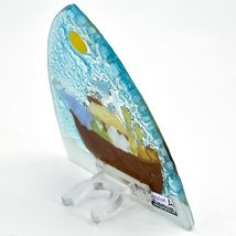 Fused Art Glass Noah's Ark Christian Religious Night Light Handmade in Ecuador image 5