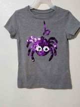 Women Graphic Tee T-Shirt Color Grey Size XS 4-5 (R-L) - $10.27