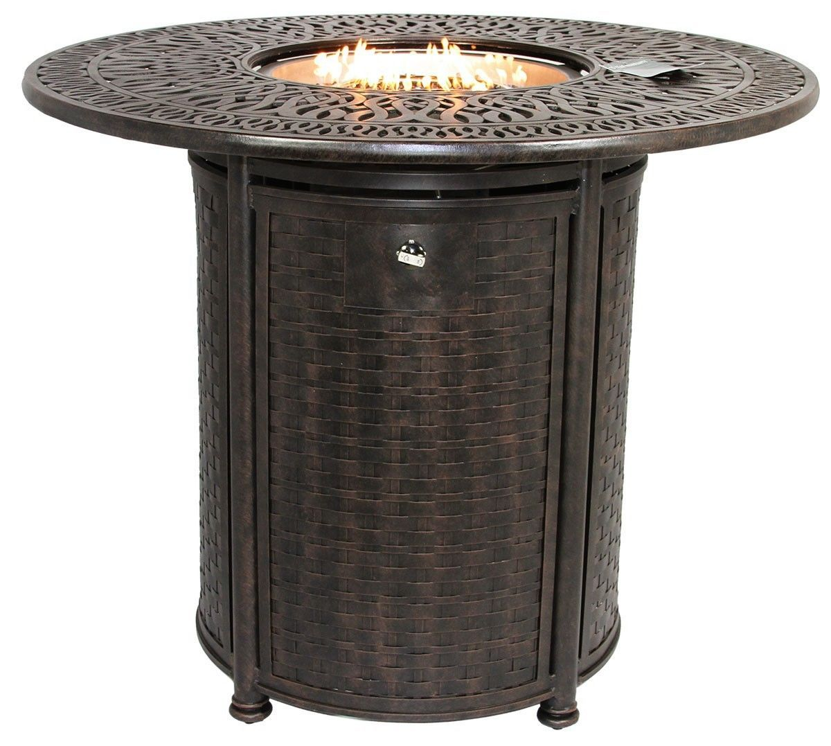 "OUTDOOR PATIO 52"" ROUND BAR HEIGHT FIRE TABLE - SERIES 2000"