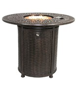 """OUTDOOR PATIO 52"""" ROUND BAR HEIGHT FIRE TABLE - SERIES 2000 - $2,970.00"""