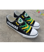 Green Bay Packers shoes Packers sneakers super bowl fashion birthday gif... - $55.00+