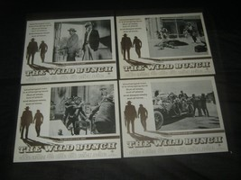 8 Original 1969 Australian WILD BUNCH 11x14 Lobby Card Set Sam Peckinpah - $636.99