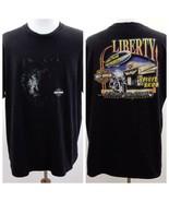Harley Davidson Grand Cayman 2002 Black Graphic T Shirt Mens Sz 2XL - $33.85
