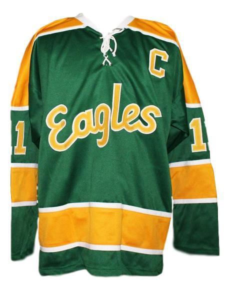 Salt lake golden eagles retro hockey jersey lyle bradley green   1