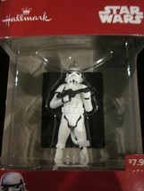 HALLMARK 2017 DISNEY STAR WARS ORNAMENT THE LAST JEDI STORM TROOPER EXEC... - $14.99