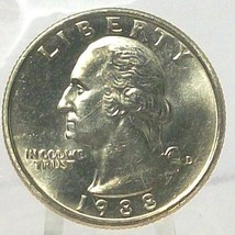 1988-D Washington Quarter In the Cello MS65 FREE SHIPPING #698 - $7.99