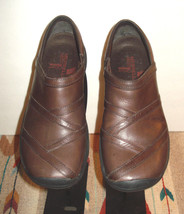 """Merrell """"Encore Eclipse"""" Brown Leather Casual Sport Loafer Sz. 7.5 EXCELLENT! - $37.13"""