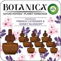 Botanica by Air Wick Plug in Scented Oil, 10 Refills, French Lavender and Honey