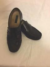Bostonian Black Leather Slip On Dress/Casual Loafers Men's Size 10M 28091 - $28.35