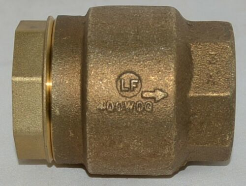 Watts LF600 Series Silent Check Operation Valve Prevents Water Hammer 0555180