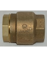 Watts LF600 Series Silent Check Operation Valve Prevents Water Hammer 05... - $170.31