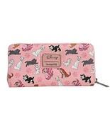 Disney Cats Wallet Zip Around Clutch Faux Leather - $145.47