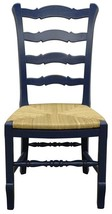 Dining Chair TRADE WINDS PROVENCE Ladder Back Side - $719.00
