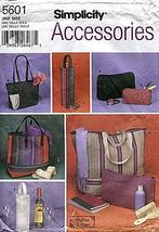 Simplicity Accessories Pattern 5601 Bags in Six Styles by Andrea Schewe - $9.79