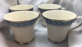 Gorham Fine China Kingsbury Footed Teacups Set Of 4 - $54.08
