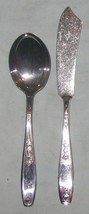 Ambassador Silverplate 1919 Master Butter Knife Sugar Shell Spoon /S 1847 Roger - $7.67