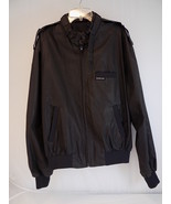 WOMEN'S HIPSTER MEMBERS ONLY JACKET Black Sz 42 Zip Up w/ pockets Poly B... - $28.70