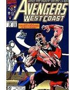 Avengers West Coast 78 [Comic] [Jan 01, 1985] Marvel - $0.01