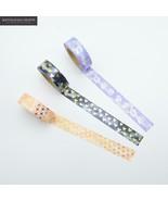 KEVIN&SASA CRAFTS® Foil WashiTape Quality Stationery Diy Scrapbooking Ph... - $3.53