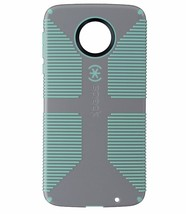 Speck CandyShell Grip Series Hardshell Case for Moto Z Droid - Gray/Ligh... - $5.49