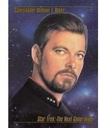 1993 Skybox Star Trek Master Series #10 Commander William T. Riker M/NM - $2.93