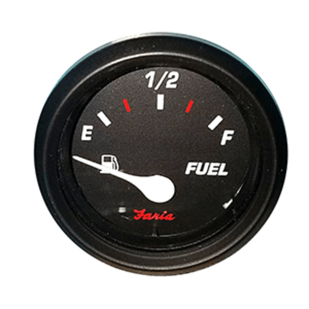 "Primary image for Faria Professional 2"" Fuel Level Gauge - Red"