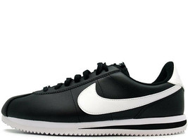 New Nike Cortez Leather Black/White 819719-012 Shoes Men - $75.00