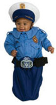 Newborn Police Officer Bunting Halloween Costume - $27.00