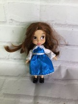 """Disney Store Beauty and the Beast Belle Animators Collection Mini 5"""" Dol... - $14.25"""