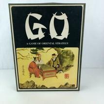 GO Oriental Strategy Board Game 1975 Complete Gammon Inc Bookshelf Vintage - $9.89