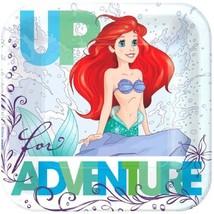 "Ariel Dream Big 8 7"" Dessert Cake Plates Birthday Party Little Mermaid - $4.65"