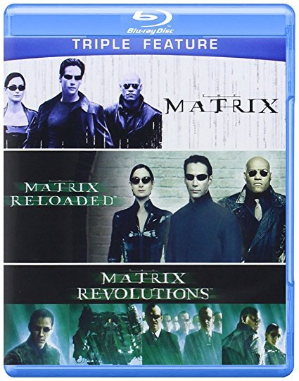 Matrix + Matrix Reloaded + Matrix Revolutions Triple Feature Trilogy [Blu-ray]