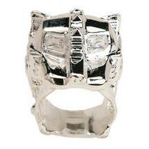 Han Cholo Silver Plated Lioness Ring Size 7 NEW image 2