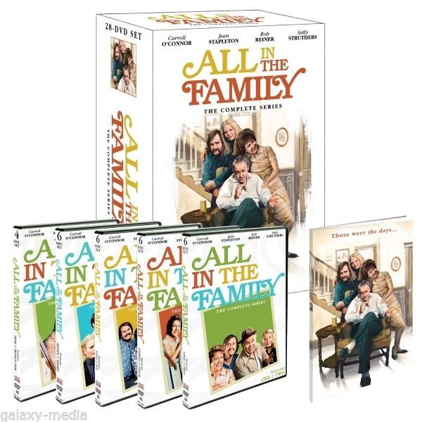 All in the family the complete series boxset giftset  28 dvd 2012  archie bunker