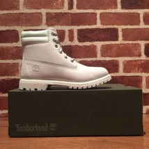 "Timberland Women's 6"" Double Collar Off-White Waterproof Boots A1PCC. SI... - $158.02"
