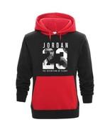 Men Hip Hop Long Sleeve Jordan 23 Pocket Contrast Pullover Tracksuit Swe... - $27.32