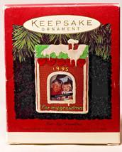 Hallmark: For My Grandma - Photo Holder - 1995 Holiday Ornament - $9.67