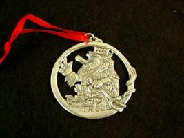 Havstad Tinn Original Troll Pewter Ornament Made In Norway - $23.74