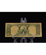 MAKE OFFER MINT GEM>PRECISE DETAIL~GOLD~1901 UNC. $10 DOLLAR BISON Rep*B... - $12.34