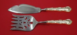Rondo by Gorham Sterling Silver Fish Serving Set 2 Piece Custom Made HHWS - $127.40
