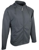 EASTON POWER PLUS FULL ZIP HOCKEY HOODIE - CHARCOAL GRAY - SIZES L -XXL - $37.99